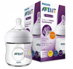 BUTELKA AVENT NATURAL NEW 125 ml PUDEŁKO 1 szt.