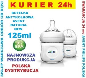 BUTELKA AVENT NATURAL NEW 125 ml 1 szt.